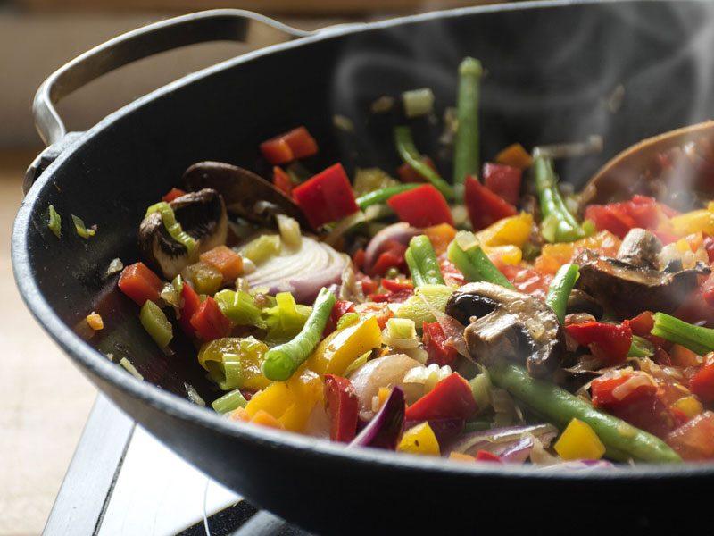 Cuoci le verdure