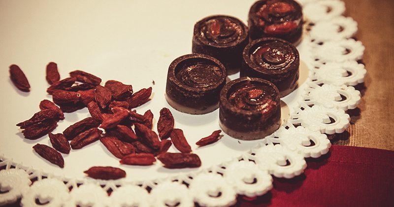 Cioccolatini Goji