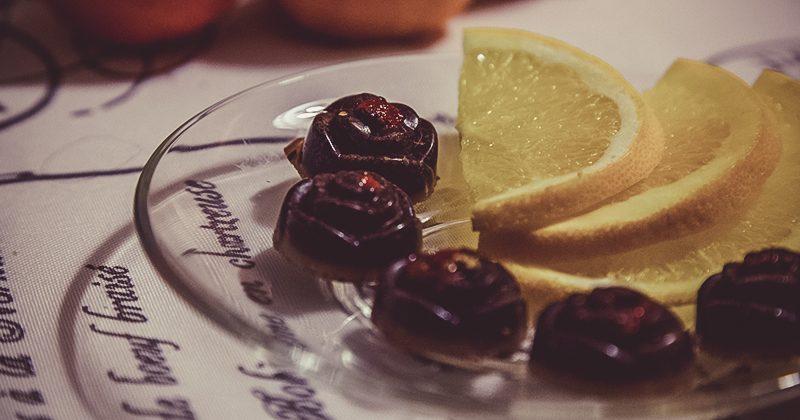 Cioccolatini Goji e Arancia