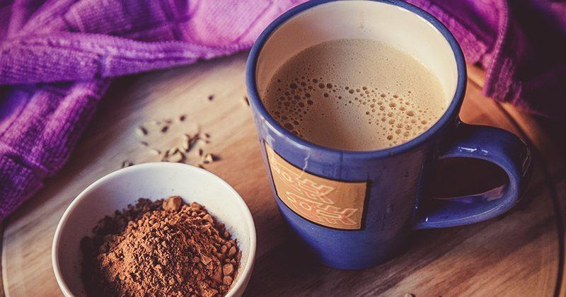 Smart Cappuccino con açai e carruba