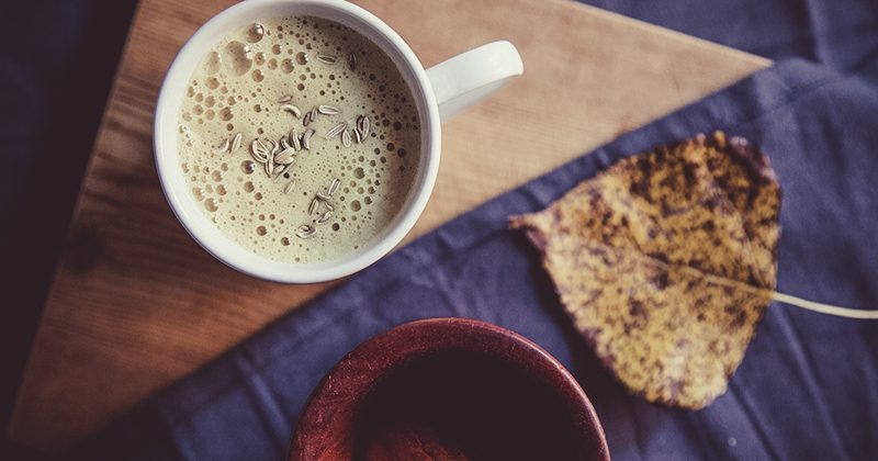 Smart cappuccino con maca