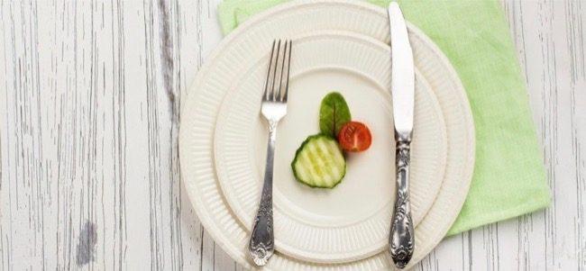 mangiare poco