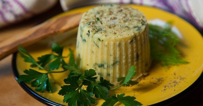 Cheese veg di ceci