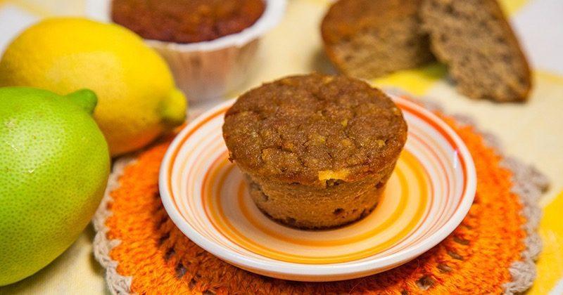 Mini plum cake al limone