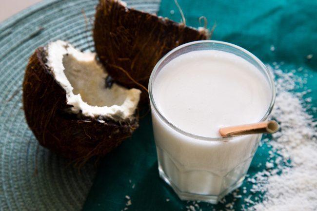 Latte di cocco cremoso