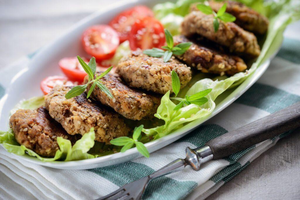 Proteine industriali nella dieta vegana