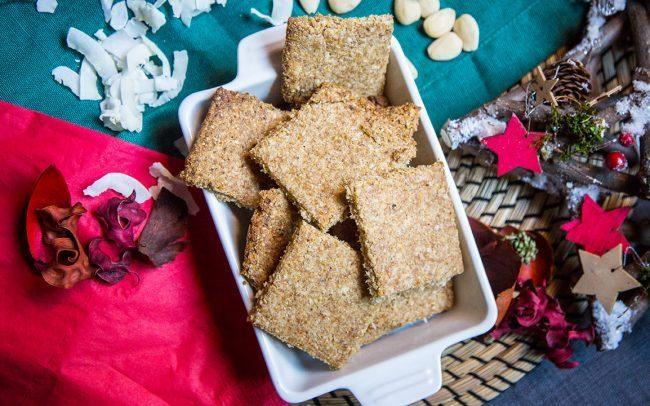 Crackers fragranti psillio e chufa, probiotici e prebiotici