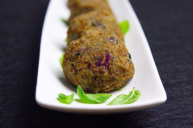 Polpette di lenticchie, proteine vegetali