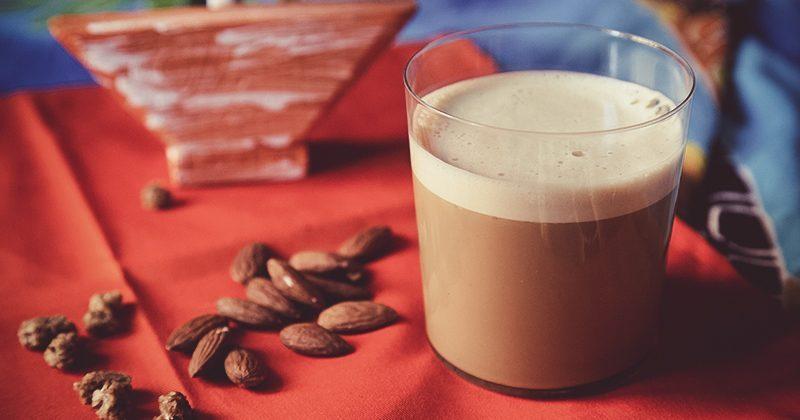 Smart cappuccino con sciroppo di yacon, probiotici e prebiotici