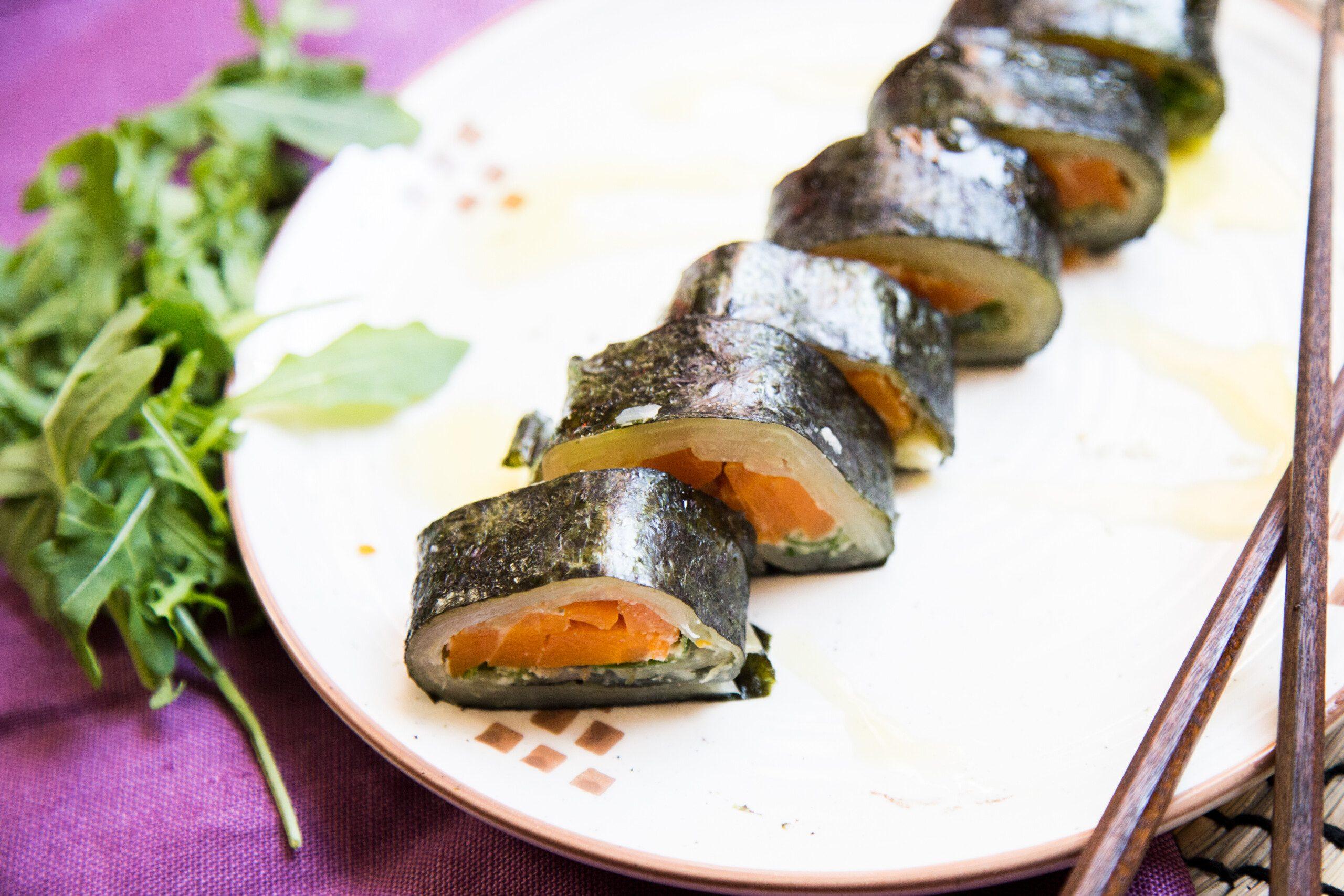Sushi vegani