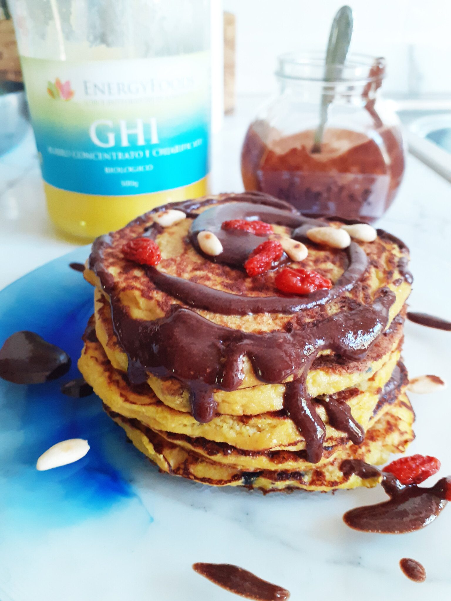 Ricette chetogeniche, pancakes proteici con Sautonella