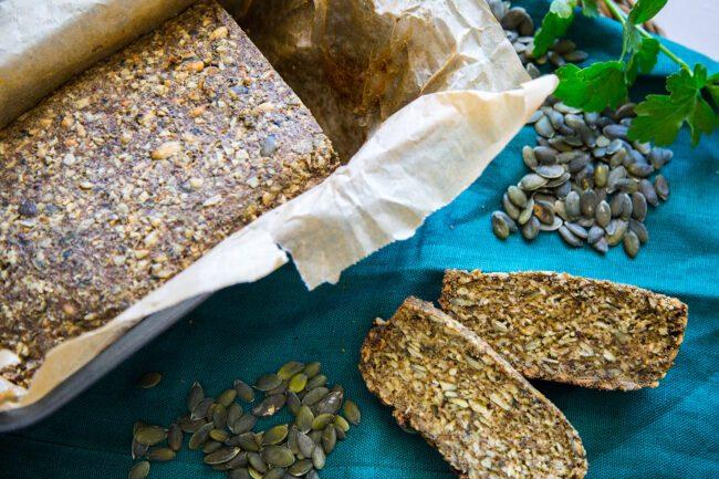 Ricette chetogeniche, pane ai semi