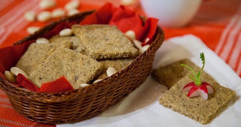 Crackers alle mandorle