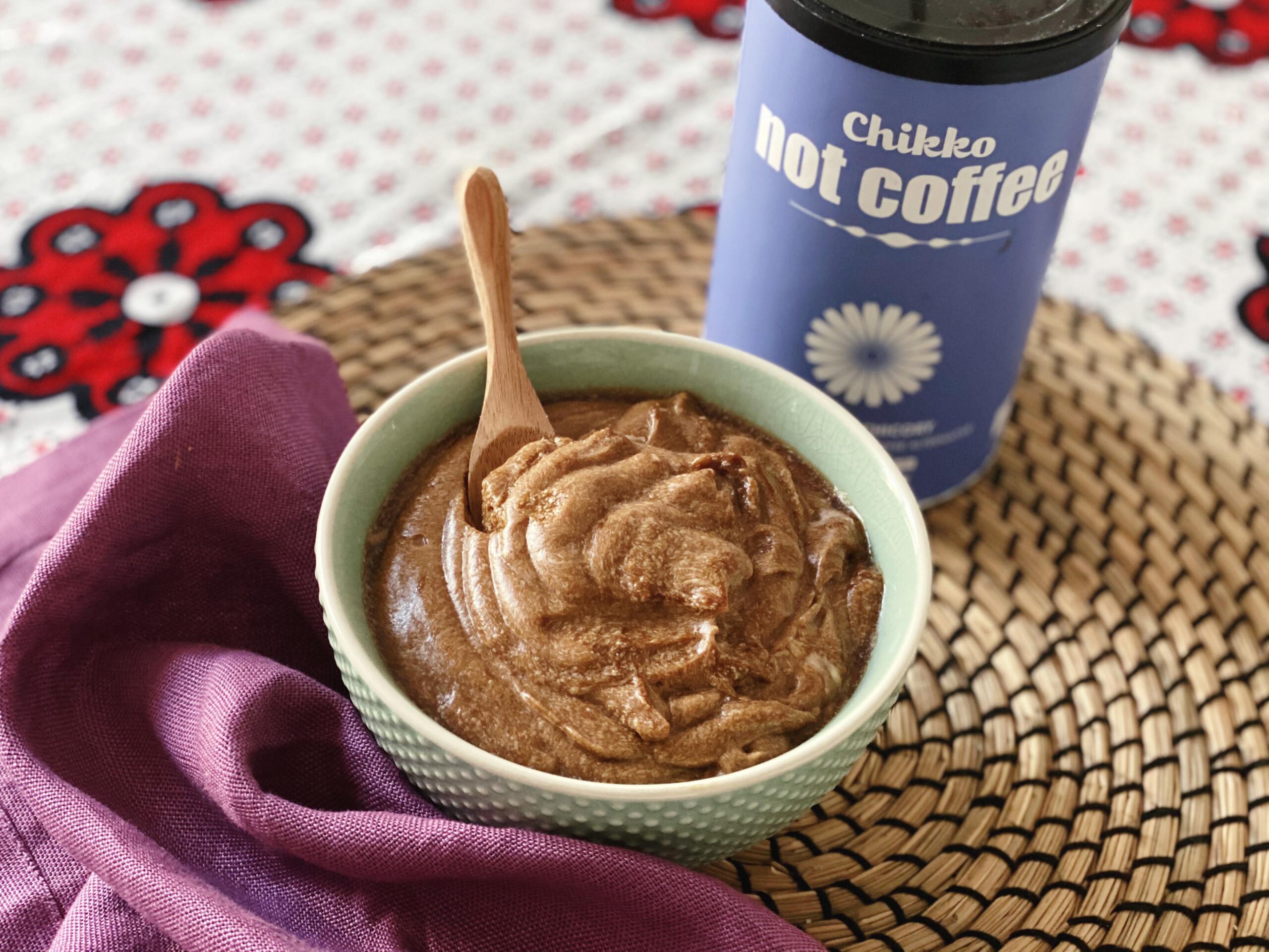 Budino al caffè di cicoria