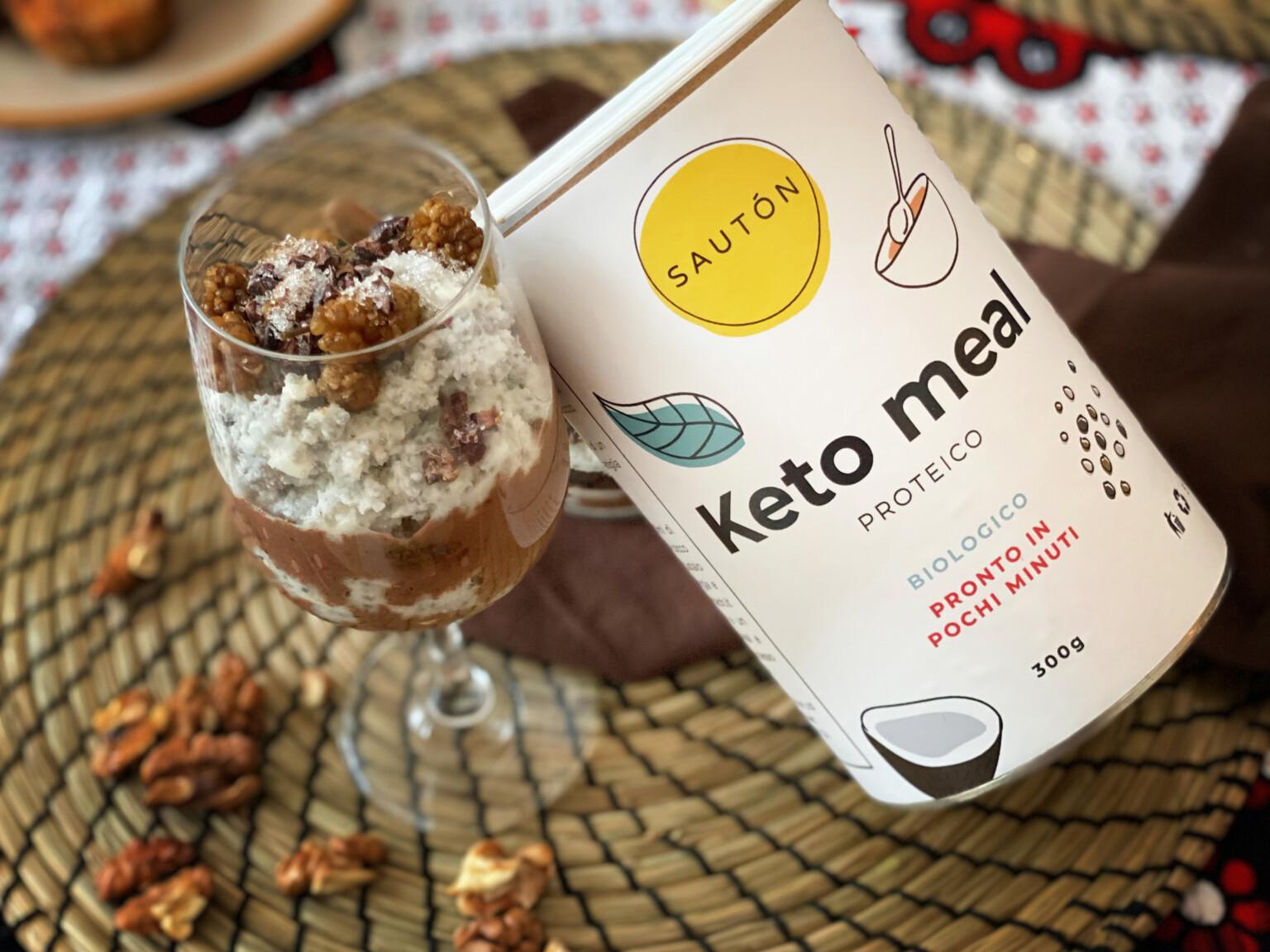 Ricette con proteine in polvere, Keto Meal al cacao