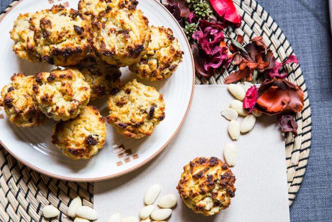 Colazioni proteiche dolci, muffin al Berry mix e limone