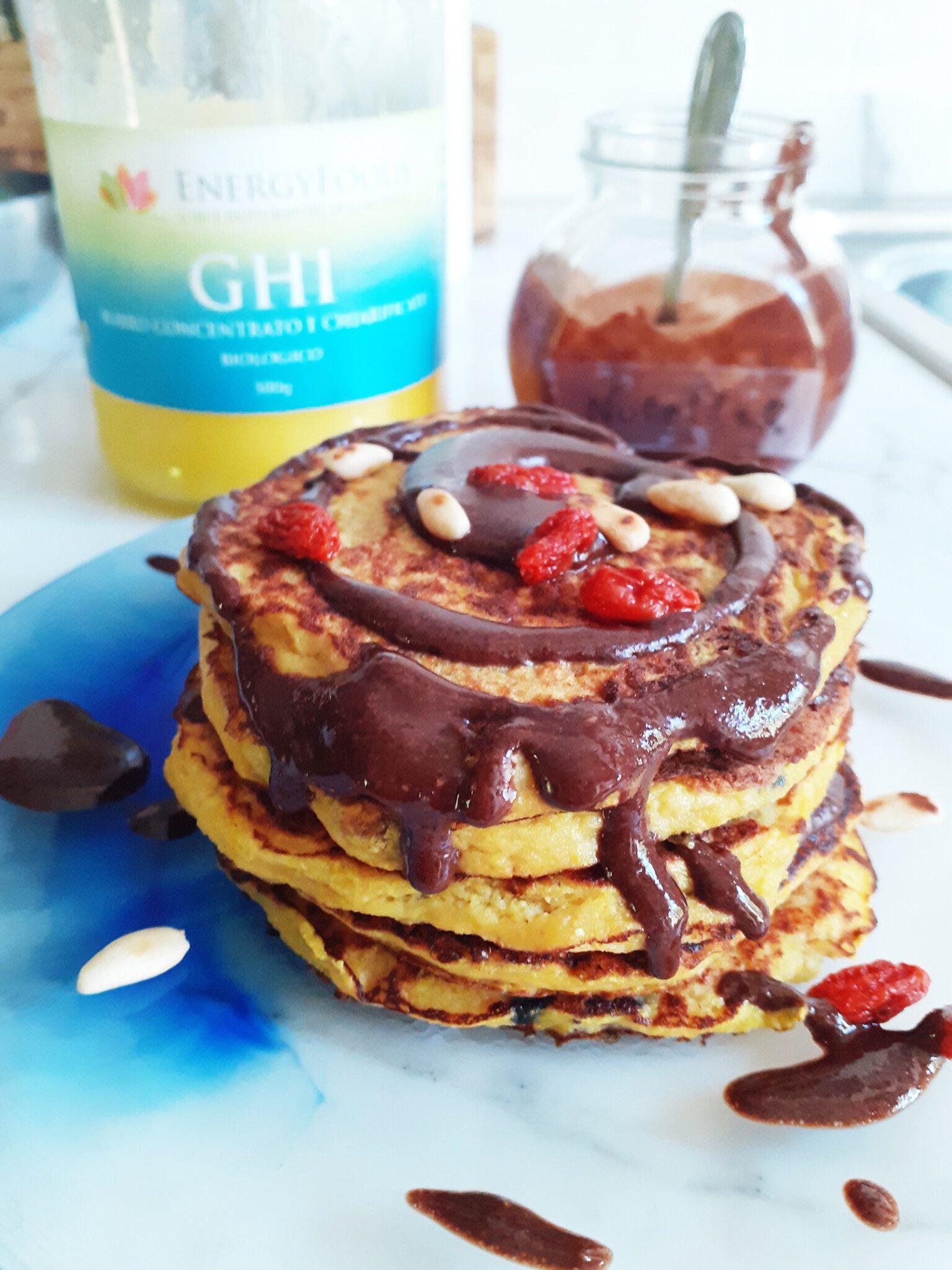 Pancakes proteici con Sautonella