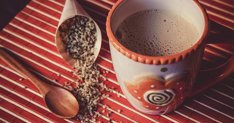 Smart cappuccino con canapa