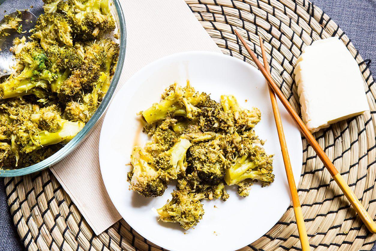 Broccoli al burro e aceto balsamico