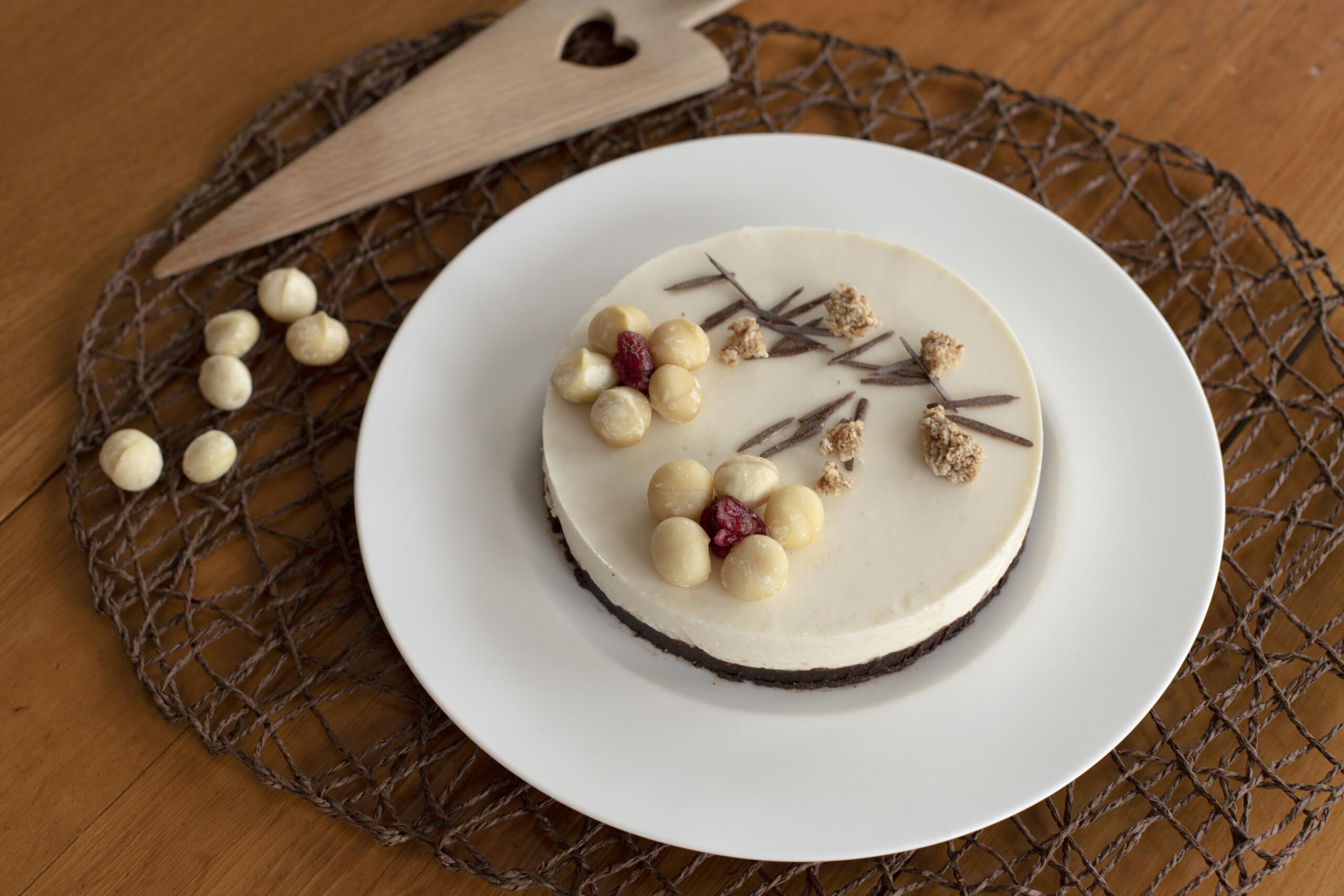 Cheesecake bianca e nera