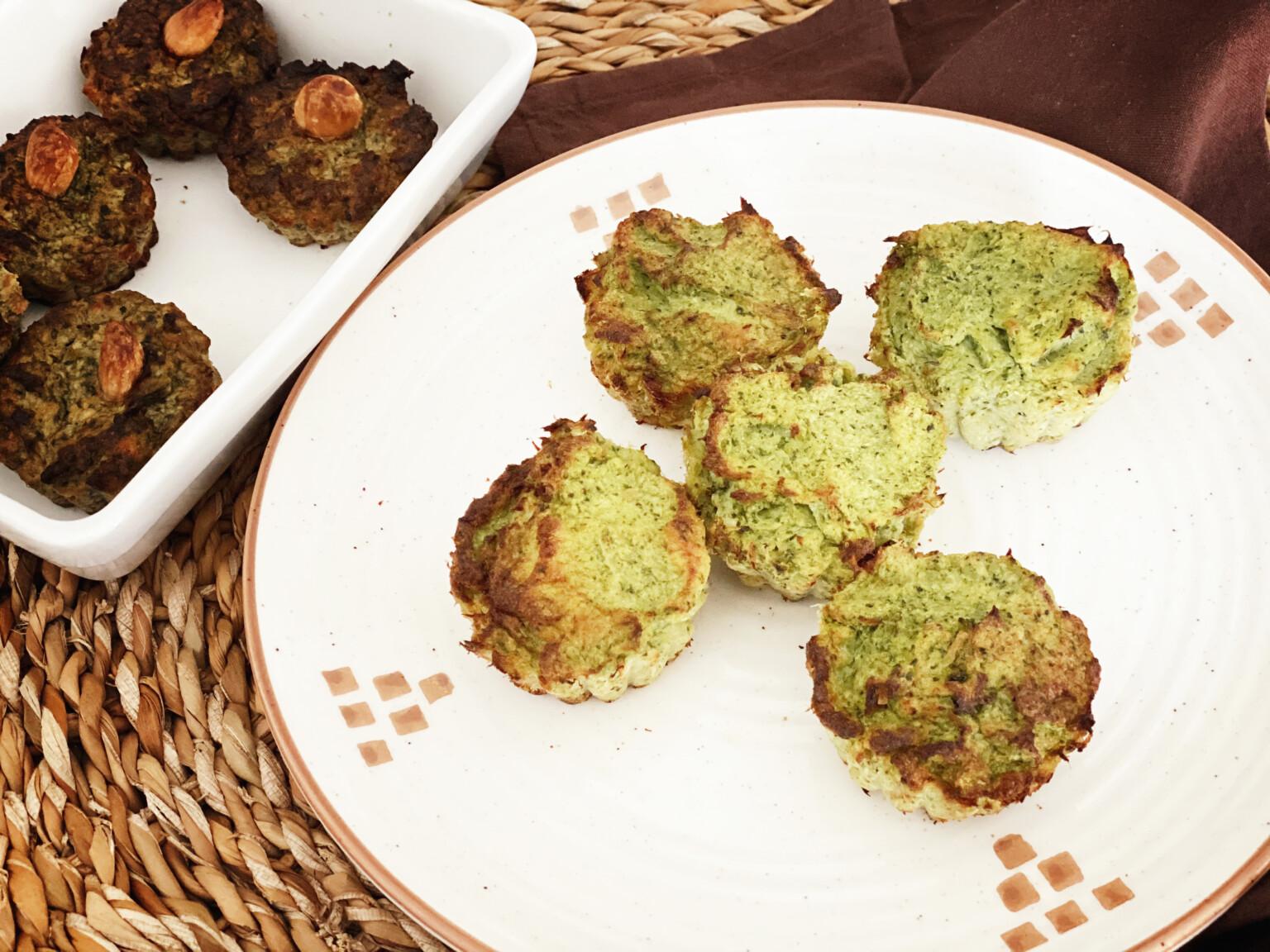 Muffin di broccoli e baccalà