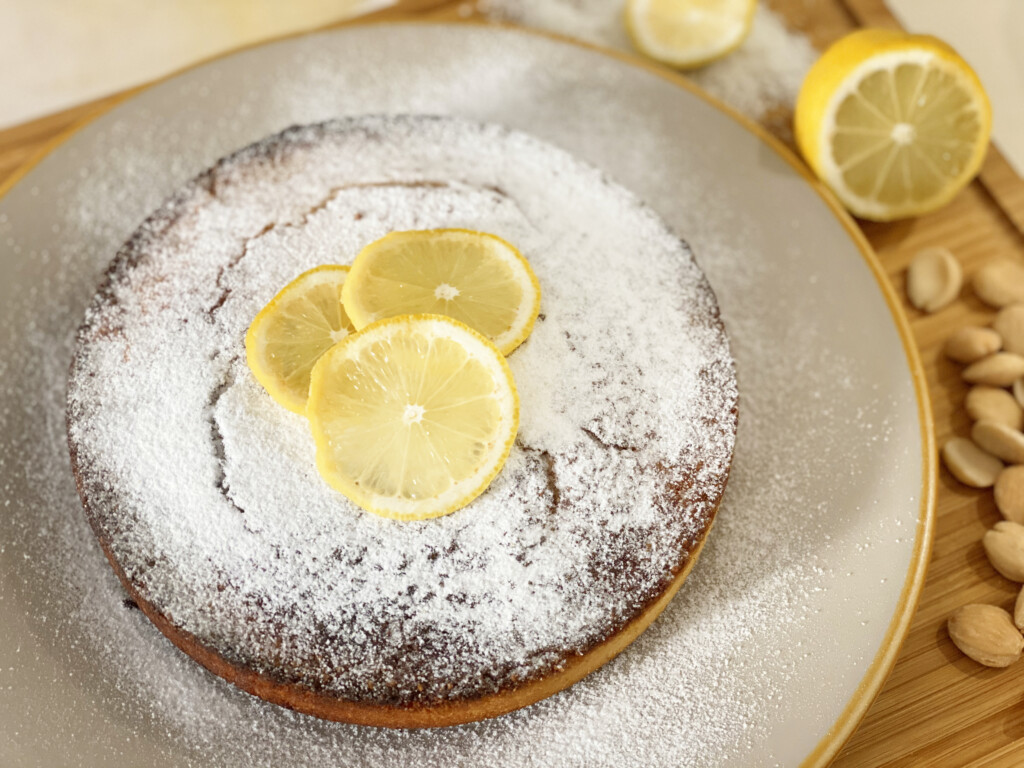 Dolci low carb, Torta al limone