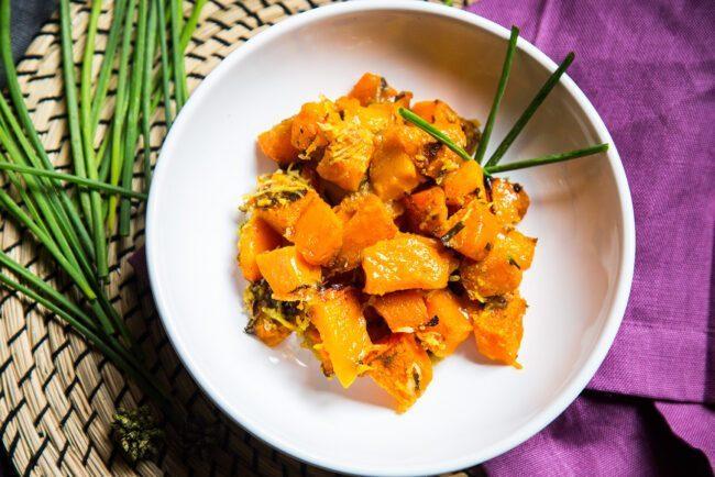 Ricette di verdure, zucca al forno