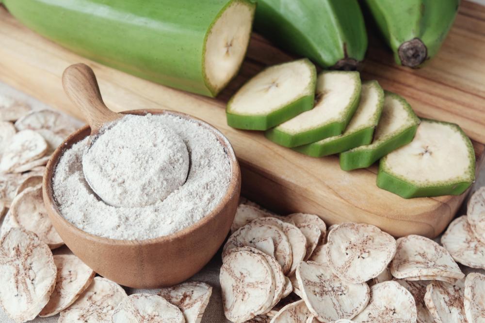Farine alternative, farina di banana verde