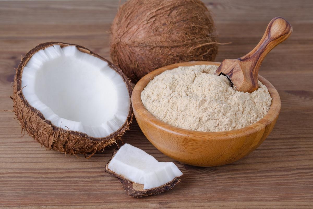 Farine alternative, farina di cocco
