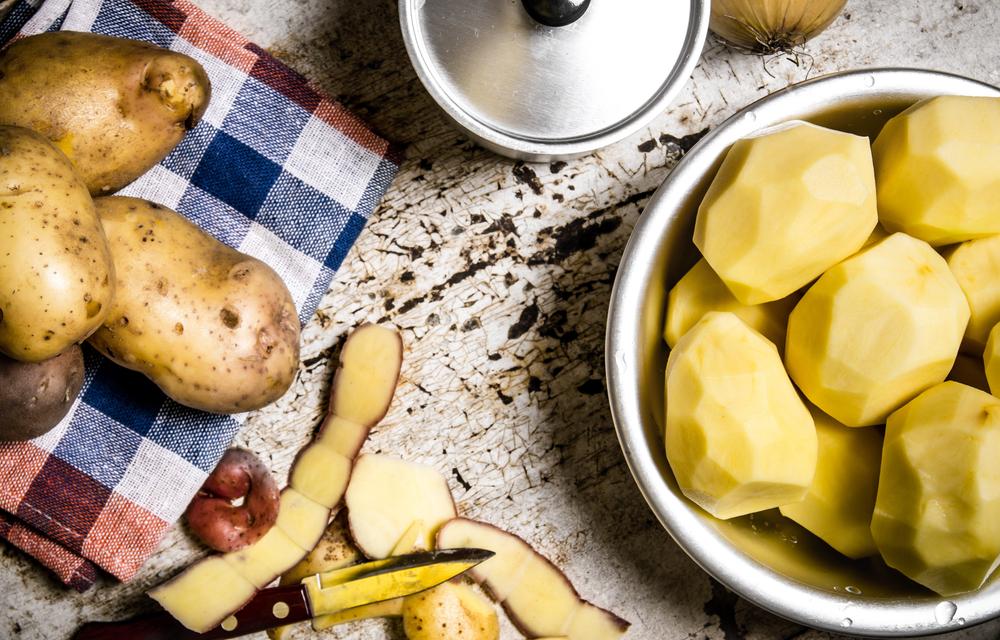 Amido resistente, patate
