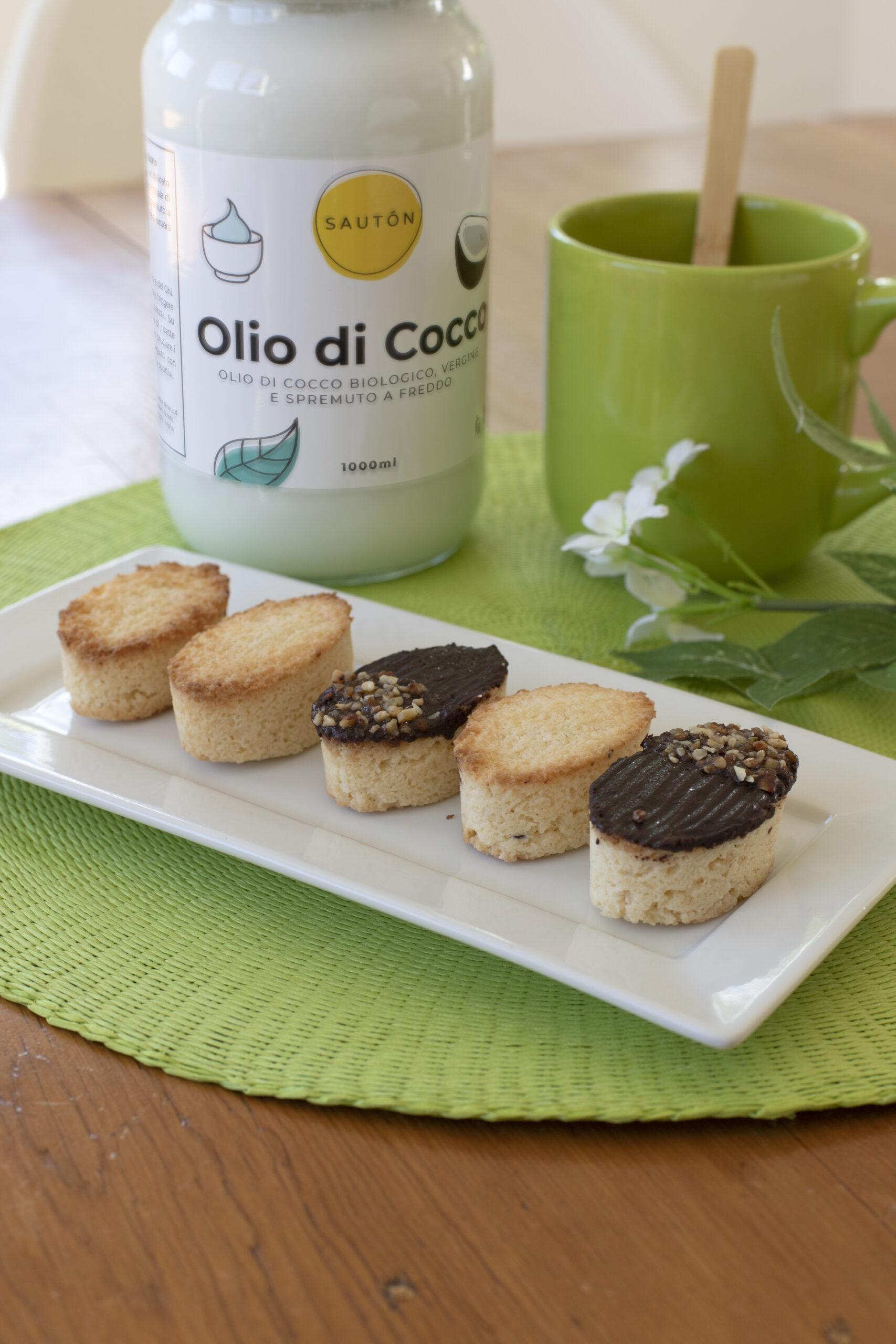 Biscotti ovali al cocco 2